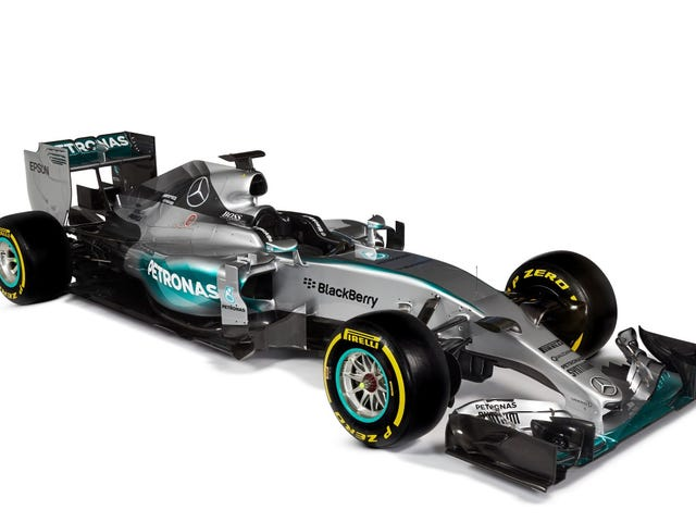 Official pics of the MercedesGP AMG W06 Hybrid