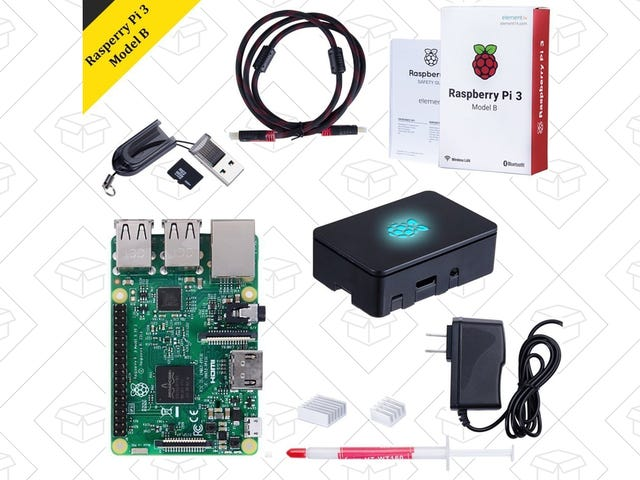 Build Your Own Mini SNES (Or Just About Anything Else) With This Discounted Raspberry Pi