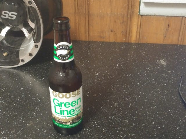 """This Beer. It took 11 years before Green Line made it to the """"sticks""""."""