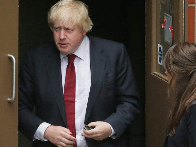 Very British Heckler Politely Pursues Boris Johnson Down the Street, Calls Him 'Absolute Rubbish'