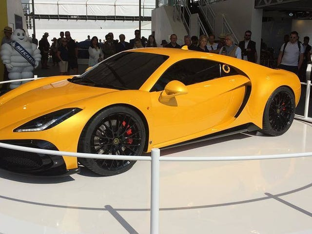 The Noble M500 Concept Is A Fiberglass Supercar With A 550 HP Twin-Turbo EcoBoost V6
