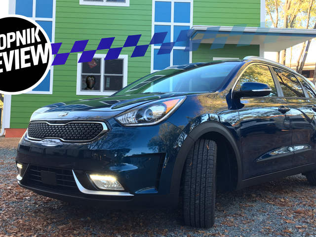 The 2018 Kia Niro Is A Good Little Wagon