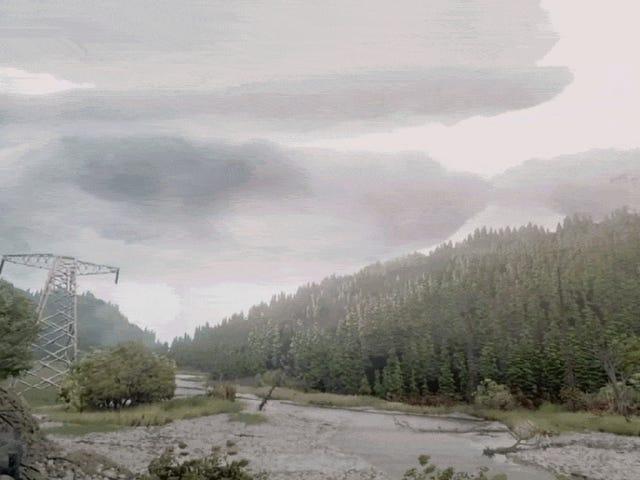 Đây không phải là một khu rừng thực sự, nhưng một cái gì đó được tạo ra trong những giấc mơ