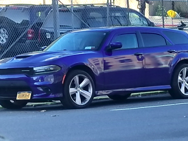 This Dodge Charger Wagon Spotted On The Street Looks So Much Better Than It Has Any Right To