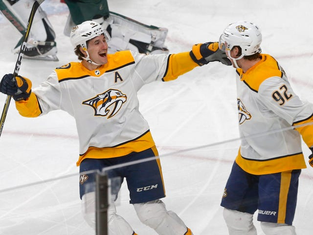 The Canucks Let The Predators Put On A Show