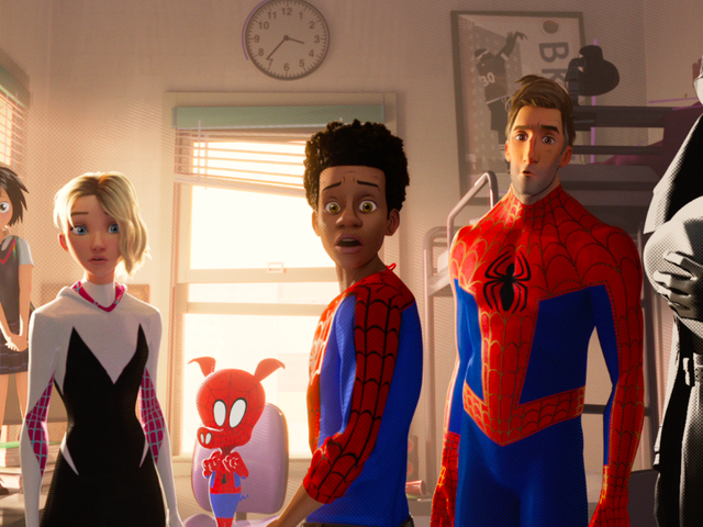 A Mind-Blowing Into the Spider-Verse Trailer Introduces Spider-Ham and Peni Parker