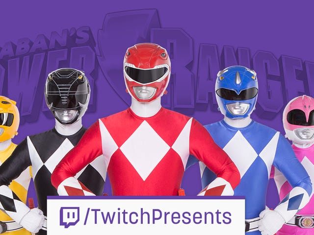 Twitch Is Marathoning 23 Seasons Of <i>Power Rangers</i> Next Week