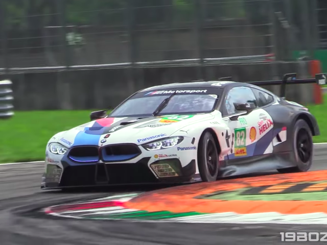 The BMW M8 Race Car Sounds Weird As Hell