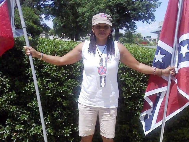 Nogen får dit konfødererede flag Wavin 'kusine Karen Cooper