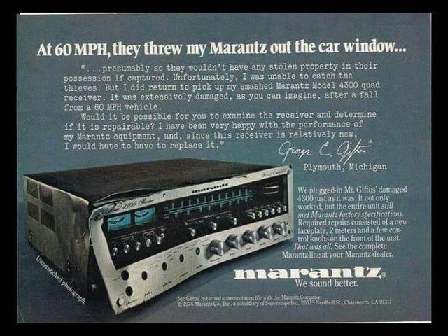 Marantz Sounds Better