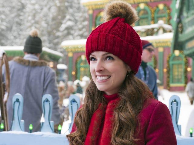 Anna Kendrick ve Bill Hader kızakta bile, Disney Noelle Noel mucizesi değil
