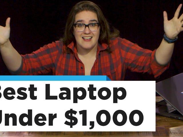 Tämä on täydellinen kannettava alle 1000 dollaria