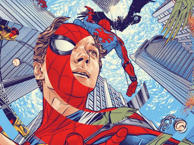 The War of the Spider-Man Homecoming Posters Rages On