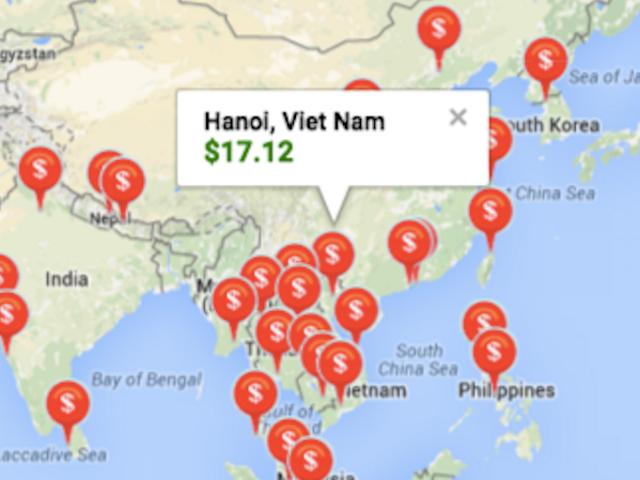 Dette indeks hjælper dig med at planlægge en tur i turisme gennem Asien