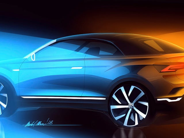 VW Announces Convertible Crossover For 2020 As All Grasp Of Reality Slips Away