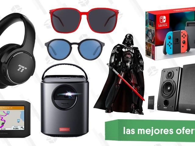 Las mejores ofertas de este viernes: LEGO de Darth Vader, Nintendo Switch, proyectores de Anker y más
