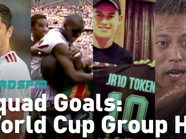 (ほぼ)1分で、ワールドカップグループHについて知っておく必要があるすべて