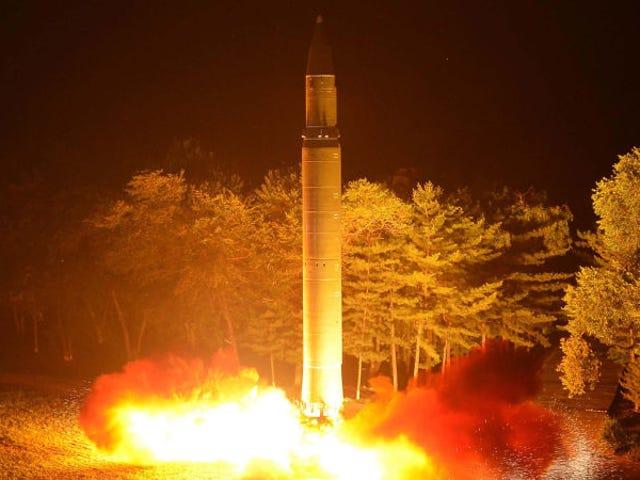 Nordkoreas kraftfulla nya missilteknik kan ha smuglats från Ukraina