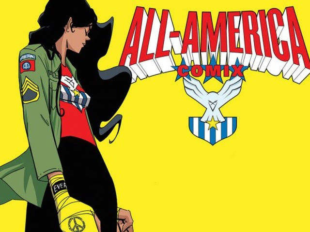 Since Marvel Won't Make an America Chavez Comic, Meet Image's New Hero, America Vasquez