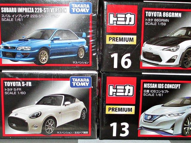 Tomica Τρίτη: Νέα μοντέλα Premium