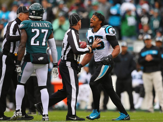 Eric Reid Tries To Settle A Score With Malcolm Jenkins In Panthers-Eagles Coin Toss, Scuffles With Zach Ertz