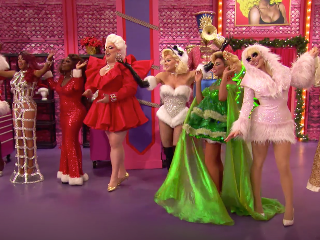 'Fuck Thanksgiving,' the New Teaser for the Drag Race Christmas Special Seems to Suggest