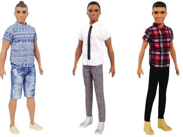Mångfald kommer till Barbies pojkvän Ken, komplett med en manbulle