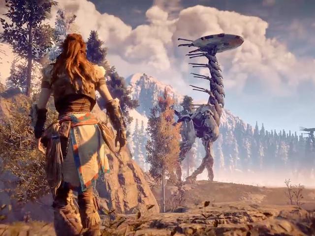 우리는 당신이 우리에게 스트리밍을하고 Robo-dino 사냥 시뮬레이션을 원했던 게임을 물었습니다. Horizon : Zero Dawn이 나왔습니다.