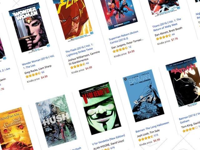 Save Up to 65% on DC Rebirth & Essential Collections