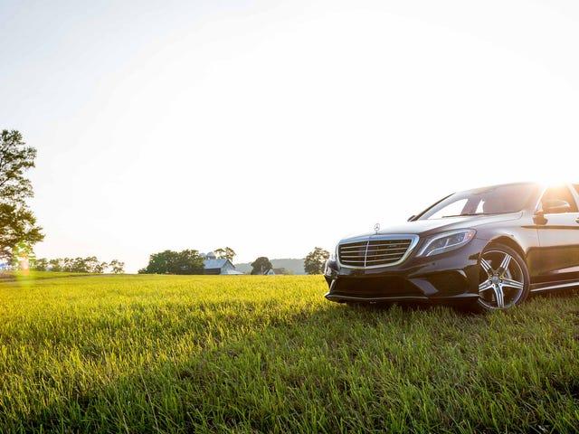 Kiểm tra những hình ảnh này của A Mercedes-Benz S63 AMG tôi chưa bao giờ được đăng