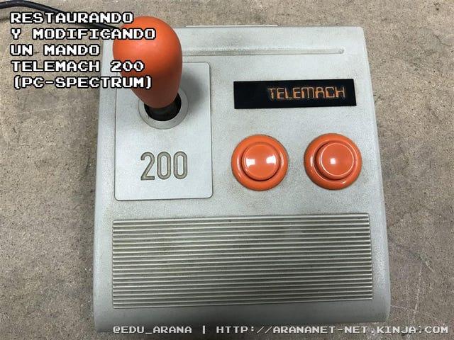 Restaurando y modificando un mando telemach 200 (pc-spectrum)
