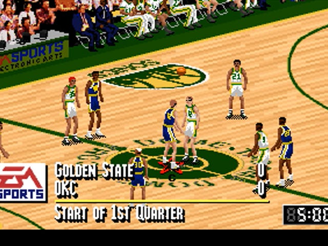 Θα πυρπολήσουμε το NBA Live '95 με τρέχοντα δρομολόγια για να δούμε πώς ο Warriors-Thunder του Σαββατοκύριακου