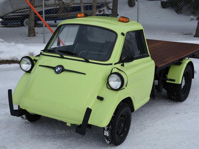 Hey, Here's Something Fantastic: A Volkswagen-Powered Isetta Truck