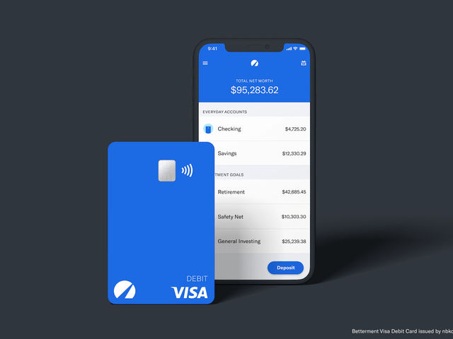 Betterment Is Basically Becoming a Bank With New Savings and Checking Accounts
