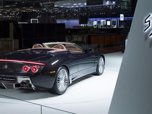 Real Car Company Spyker Will Get Righteous 600 Horsepower V8s From Koenigsegg