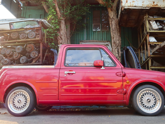 I Went To Hong Kong And Discovered The Weirdest Homemade Pickup Truck Ever