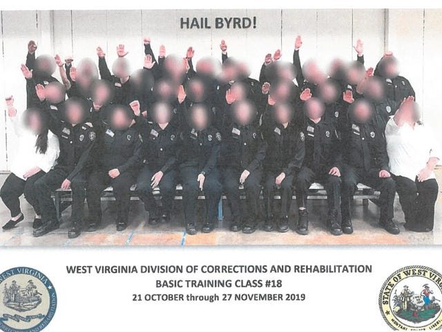 3 Fired, 34 Suspended After Picture of Corrections Employees Making Nazi Salute Surfaces