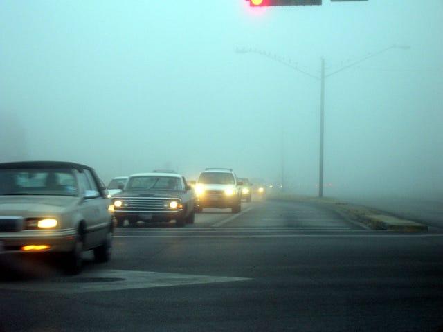 Slow tonight, must be foggy...
