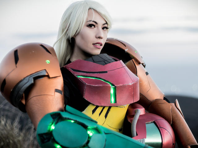 Samus Aran, Reporting For Duty