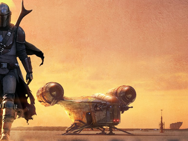 In the First Mandalorian Trailer, a Lone Ranger Survives on a Galaxy's Edge