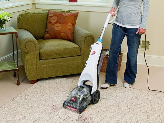 See Just How Disgusting Your Carpets Are With the Bissell ReadyClean, Now Cheaper Than Ever