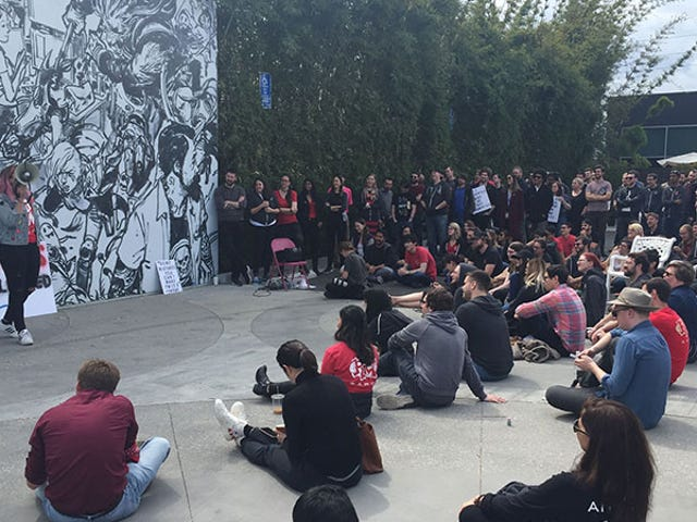 Over 150 Riot Employees Walk Out To Protest Forced Arbitration And Sexist Culture [Updated]