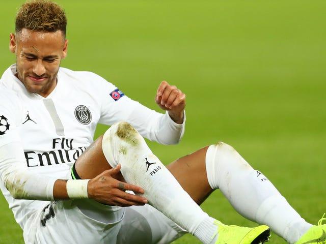 Ο Neymar δεν μπορεί πραγματικά να κινείται ξανά, μπορεί αυτός;