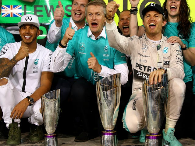 Mercedes F1 Boss Threatens To Swap A Driver If The Two Can't Get Along
