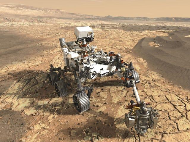 NASA'nın Sonraki Mars Gezici Ciddi Badass Olmaya Devam Ediyor <em></em>