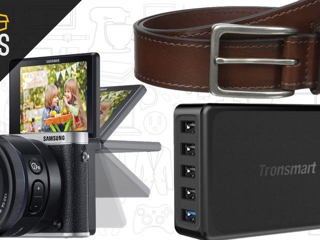 Dagens bästa erbjudanden: Spegelfri kamera, Tommy Hilfiger Tillbehör och mer