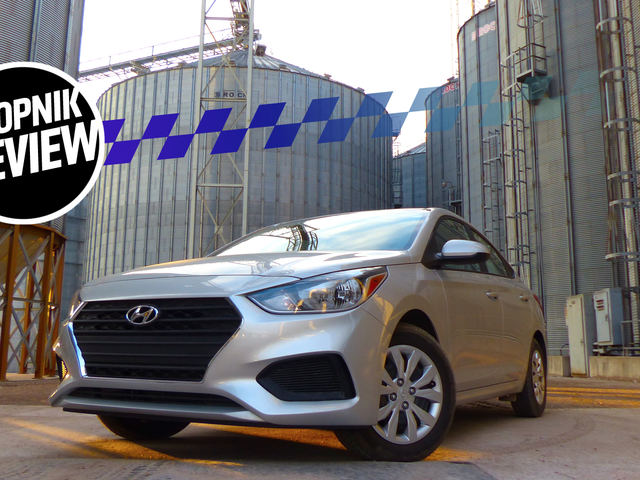 A Manual Transmission 2018 Hyundai Accent Is A Good Amount Of Fun For Only $16,000