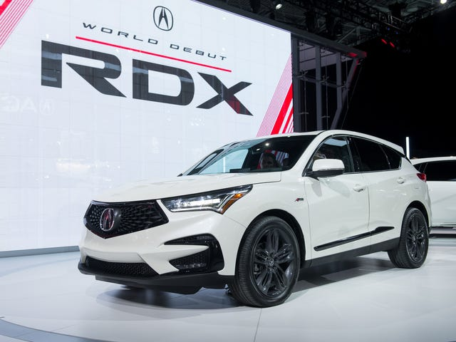 Oh hey I guess that's a 2019 Acura RDX