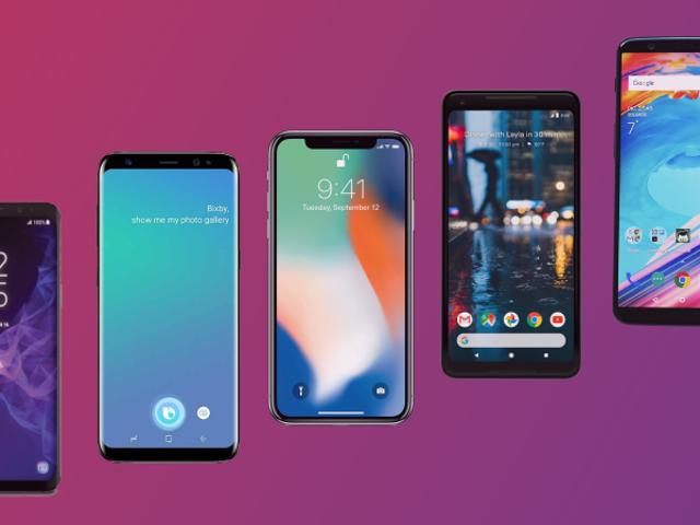 Ang Samsung Galaxy S9 at ang Galaxy S9 + kumpara sa mga pangunahing rivales