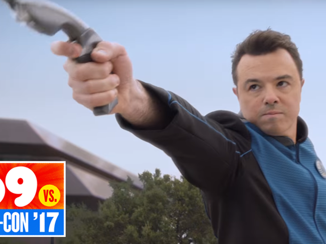 Seth McFarlane's Star Trek Spoof The Orville Looks Like a Ton of Fun